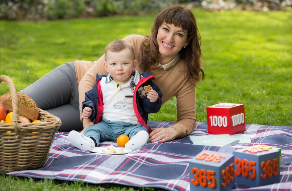 No Repro Fee 1-5-2015 ***FIRST 1000 DAYS AMBASSADOR MAURA DERRANE INTRODUCES BABY CAL*** Pictured alongside Cal, who will celebrate his first birthday later this month, Maura spoke about how she wants to encourage other parents of toddlers to include the optimal amount of nutrients such as Iron and Vitamin D in their diet. Iron supports normal brain development and Vitamin D supports normal bone and tooth development. Broadcaster highlights long-term importance of Vitamin D and Iron for toddlers. Research shows that 90% of Irish toddlers (1-3 years) don't receive enough Vitamin D in diet1, which is essential for normal bone and tooth development. 1 May 2015 – Broadcaster and First 1000 Days ambassador Maura Derrane has introduced her son Cal for the first time today. As an ambassador for the movement, Maura hopes to inspire and educate other mothers across Ireland of the importance of good nutrition during the First 1000 Days of a child's life, from pregnancy up to two years of age. Further Info:  Nicola Scott Q4 Public Relations 88 St Stephen's Green Dublin 2 Nicola@q4pr.ie 01 475 1444 / 086 8817 855 Pic:Naoise Culhane-no fee
