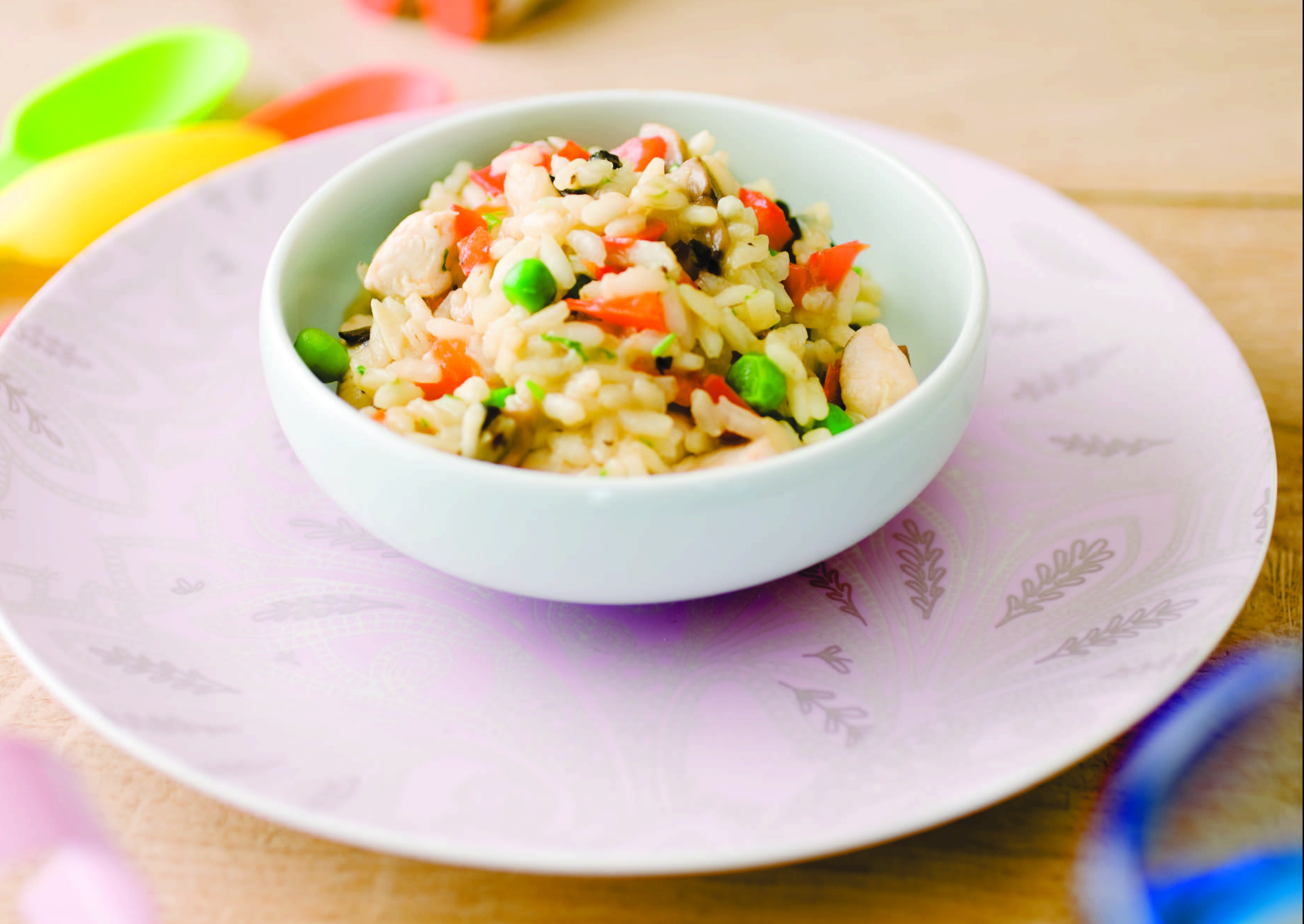 Toddler chicken and vegetable risotto first 1000 days toddler chicken and vegetable risotto forumfinder Gallery
